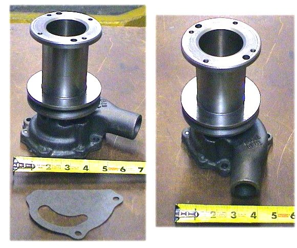 Ford 800 Tractor Water Pump : Ford  water pump cdpn c ebay