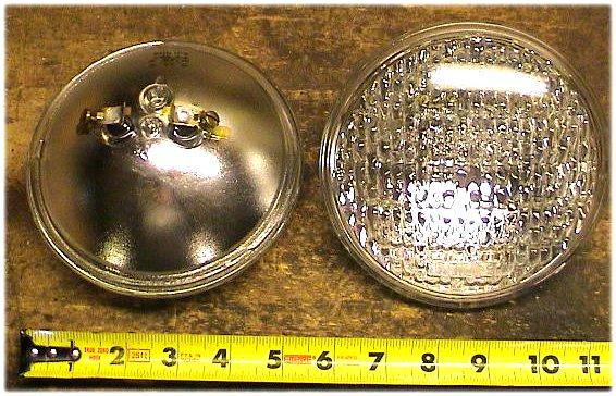 Original 8n Headlight : Ford n jubilee sealed beams head light bulbs v ebay