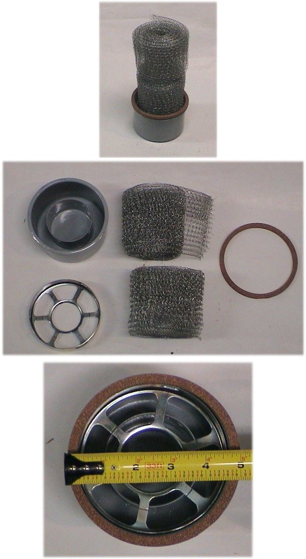 Tractor Air Cleaner Gasket : Ford n air cleaner filter cup gasket repair replace ebay